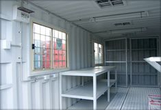 40' shipping container workshop - Google Search