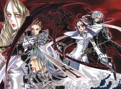 If you like any part of the Trinity Blood universe, join the Trinity Blood Facebook Group!  Everyone is welcome :) https://www.facebook.com/groups/TrinityBl00d/ (Photo from zerochan.net)