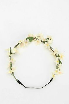Flower Crown Headwrap