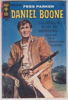 DANIEL BOONE #12 Gold Key 1968 Western Publishing Fess Parker Silver Age Comic