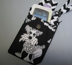 Women's Small Wristlet Wallet or Bag with by AlwaysALittleBehind, $16.00