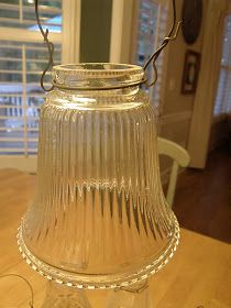 This is a thrifty little project that is so easy! My friend {and creative muse} D& saw these little garden lights at a local antique sto. Solar Garden Lanterns, Solar Patio Lights, Patio Lighting, Unique Lighting, Landscape Lighting, Lighting Ideas, Solar Light Crafts, Diy Solar, Muse