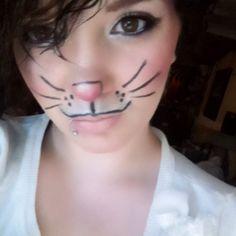Bunny makeup by stardustbyzalideviantartcom on DeviantArt