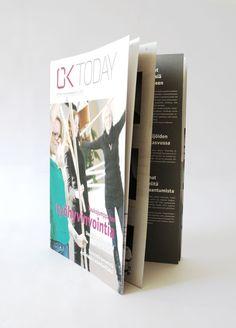 Magazine layout for OK Perintä.