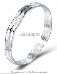 Cheap Silver Jewelry, Crystal Jewelry, Footprints, Sterling Silver Bracelets, Wedding Rings, Engagement Rings, Crystals, Enagement Rings, Crystal