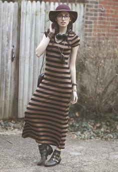 Studs & Stripes -- #Maxi #Accessories #Gold #Studs #Fashion
