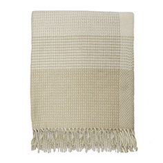 Wool Check Blanket - imported