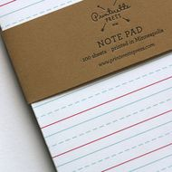 back to school. #printerette unionstreetpapery / JOURNALS AND NOTEBOOKS