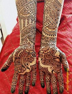 50 Most beautiful Full Hand Mehndi Design (Full Hand Henna Design) that you can apply on your Beautiful Hands and Body in daily life. Henna Hand Designs, Eid Mehndi Designs, Wedding Mehndi Designs, Mehndi Designs For Hands, Tattoo Designs, Mehandi Henna, Henna Art, Arabic Mehndi, Henna Tattoos