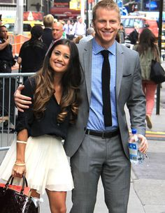 Sean Lowe and Catherine Guidice/June 2013. I love these two so much! They are so cute together!!:))