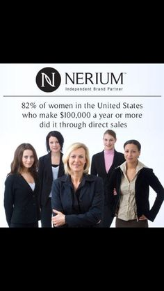 82% of Women that earn over $100,000 a year do so through Direct Sales!