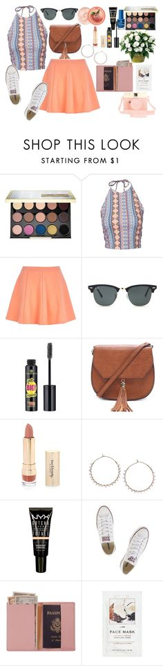"""Untitled #1175"" by mariana-7-mary ❤ liked on Polyvore featuring Urban Decay, New Look, River Island, Ray-Ban, Essence, Forever 21, Topshop, Converse, Royce Leather and Urban Outfitters"