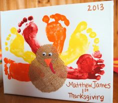 Thanksgiving Fall craft for kids