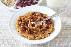Pumpkin Quinoa Breakfast - Make and Takes