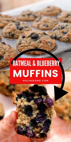 Easy! Delicious! Healthy! What else would you want for your toddlers, and kids as a breakfast or snack. These Blueberry Baby Muffins with Oatmeal are a perfect quick breakfast for toddlers! Packed with oats and berries and they have a reduced sugar content. #breakfast #snack #toddlersnacks