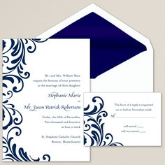 Ever After Wedding Invitation | #exclusivelyweddings | #weddinginvitations
