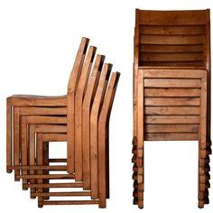 SVEN MARKELIUS 24 Helsingborg theater stacking chairs
