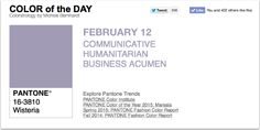 APPart – Mobile Art – Pantone Color of the Day 'Wisteria' – TheAppWhisperer