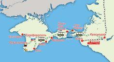 Как и чем лучше добраться в российский Крым в 2016 году