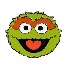 Oscar The Grouch Sesame Street | Oscar The Grouch Belt Buckle Green Multi Mens Belts