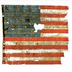 the original Star Spangled Banner... In the Smithsonian Museum of American History