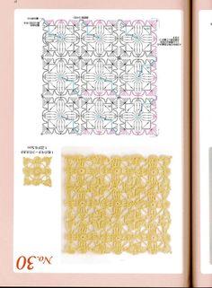 Crochet - Crochet Patterns - Crochet Scarves - The blog of world-creative