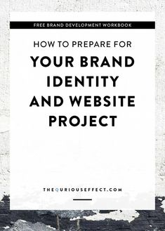 How to prepare for your brand identity and Squarepace website projects. By The Qurious Effect | Brand & Squrespace web designer.