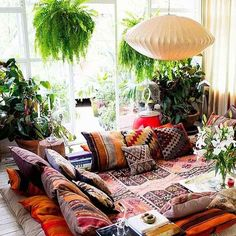 Bohemian Chic Living Rooms for Inspired Living