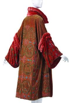 Evening coat, Agnès by Madame Havet, mid-1920's.