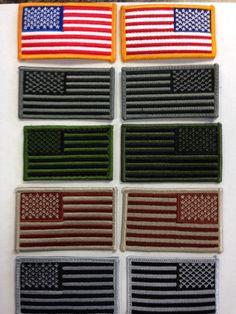 668ec3b9dee6 US Flag Reversed Morale Patch