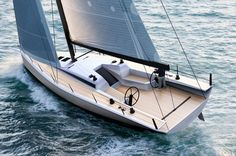 Small 'Rambler88' - ClubSwan 50 is the most innovative one design, cruiser-racer on the planet. Designed by Juan Kouyoumidjian,
