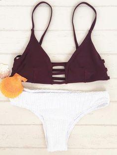 Escotado Teeny Bikini Set