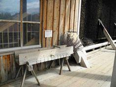'351 - Schwarzdorn-Reisigbündel mit Wasserrinnenmodell ' von Elke Seifried bei…