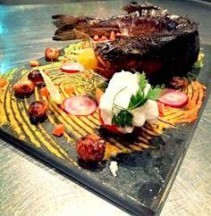 Skilled chefs make fish  a piece of art #liveLifeToDiscover #AlbustanRestaurant #thursdayFishMenu