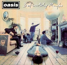 Michael Spencer Jones has revived his original cover art from the 1994 Oasis album 'Definitely Maybe' in this striking archival inkjet reproduction. An album that shaped a generation, the now iconic cover image has taken on a cult status: so familiar, Classic Album Covers, Cool Album Covers, Music Album Covers, Music Albums, Iconic Album Covers, Lps, Rock And Roll, Pop Rock, Beatles
