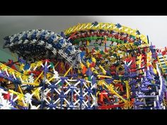 Insane ball machine built entirely out of K'Nex - CNET