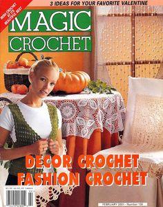 Magic Crochet #130, February 2001