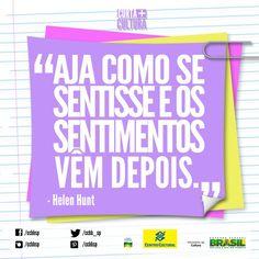 A atriz Helen Hunt está em As Sessões, filme convidado do 6º Festival Assim Vivemos, em cartaz no CCBB São Paulo até 12/10/2013.