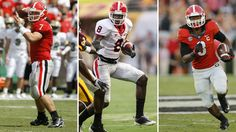 Top players during Mark Richt's tenure at Georgia Todd Gurley, Georgia Bulldogs, Best Player, College Football, Football Helmets, Tops, Collage Football