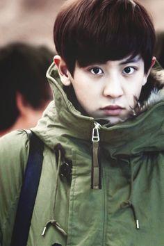 EXO-K Chanyeol so cute