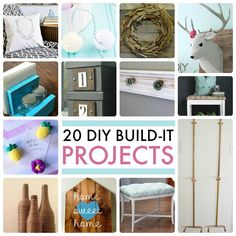 20 DIY Build It Projects! -- Tatertots and Jello