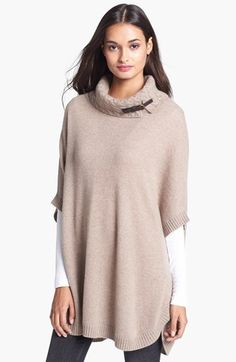 Nordstrom Cashmere Turtleneck Topper (Special Purchase) available at #Nordstrom