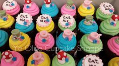 Theme Cupcakes - Alice in Wonderland®
