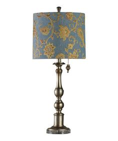 Another great find on #zulily! Silver Leaf Accent Table Lamp #zulilyfinds
