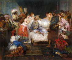 Fernand-Anne Piestre Cormon  (French , 1845 – 1924)  -  Le Harem