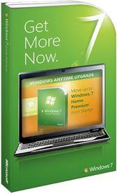 Microsoft Windows Anytime Upgrade Win 7 Starter to Win 7 Home Premium