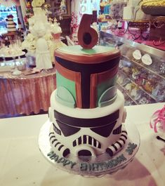 Star wars cake biba fett & storm trooper  #carinaedolce www.carinaedolce.com www.facebook.com/carinaedolce Childrens Parties, Star Wars Cake, Facebook, Party, Desserts, Food, Meal, Deserts, Essen