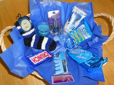 Divine Nature Temptation Basket. YW have to pass off a value experience that month to pick something out of the basket