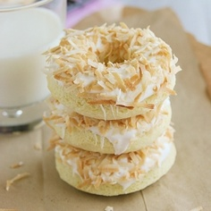 can you eat coconut donuts after Labor weekend?  These baked low, fat, find the recipe online.