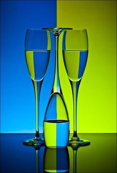 75+ Beautiful Examples of Still Life Photography | This is also a great and creative example of refraction!